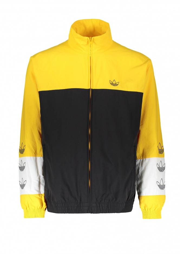 adidas Originals Apparel Tourney Warm Up Jacket - Black / Yellow