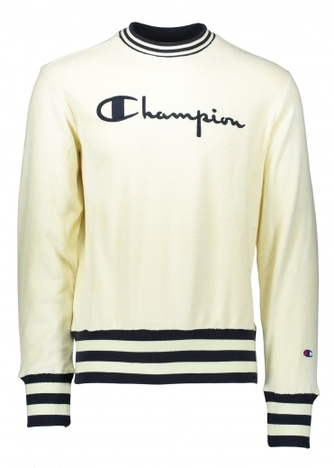 Champion Towelling Sweater - Lemon