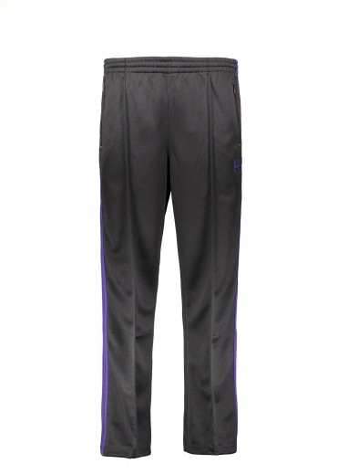 Needles Track Pant Poly Smooth - Charcoal