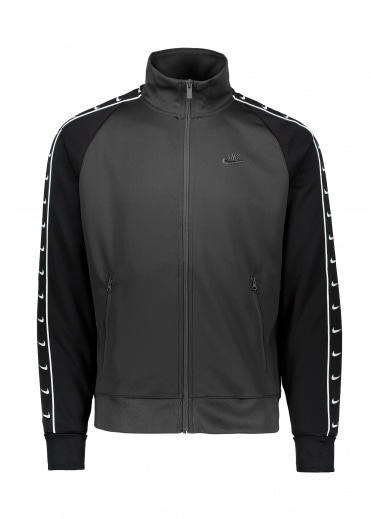 Nike Tracksuit Top - Black / White