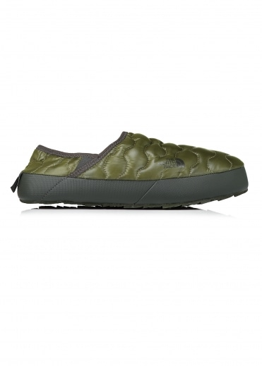 North Face Traction Mule IV - Shiny Burnt Olive