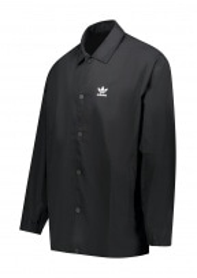 adidas Originals Apparel Trefoil Coach Jacket - Black