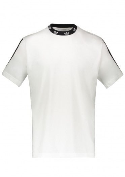 adidas Originals Apparel Trefoil Rib Tee - White / Black