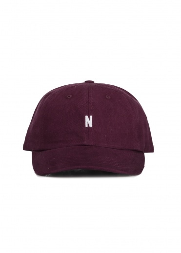 Norse Projects Twill Sports Cap - Ritteri Purple