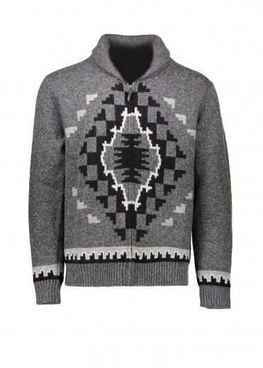 Pendleton Two Grey Hills Full Zip - Charcoal