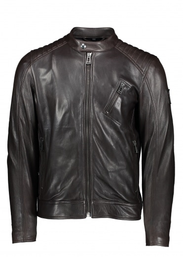 Belstaff V Racer Blouson - Dark Brown