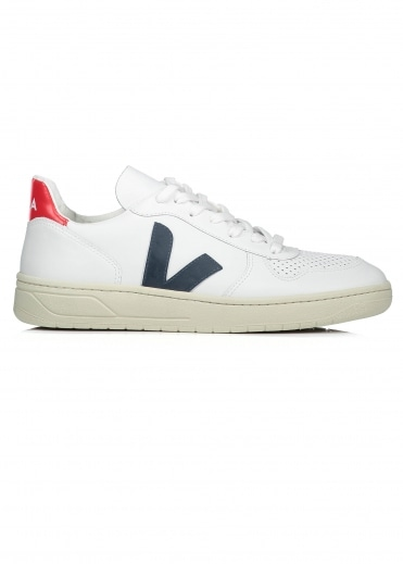 Veja V10 Leather - White