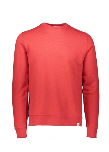Norse Projects Vagn Classic Crew - Askja Red