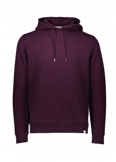 Norse Projects Vagn Classic Hood - Ritteri Purple