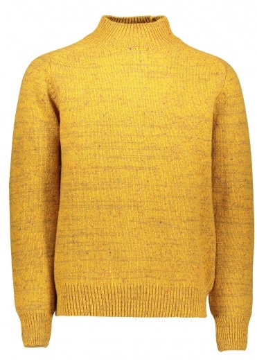 Norse Projects Viggo High Neck - Mustard Yellow