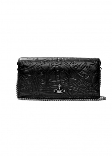 Vivienne Westwood Accessories Alex Long Wallet with Chain - Black