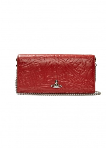 Vivienne Westwood Accessories Alex Long Wallet with Chain - Red