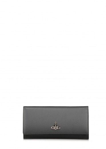 Vivienne Westwood Accessories Florence Long Card Holder - Grey