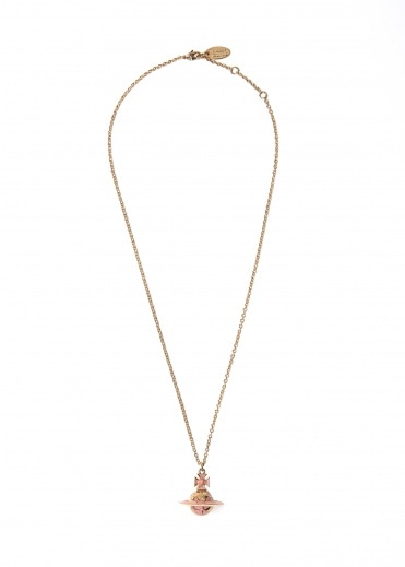 Vivienne Westwood Accessories Galileo Small Orb Pendant - Pale Pink