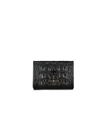 Vivienne Westwood Accessories Kelly Small Credit Card - Black