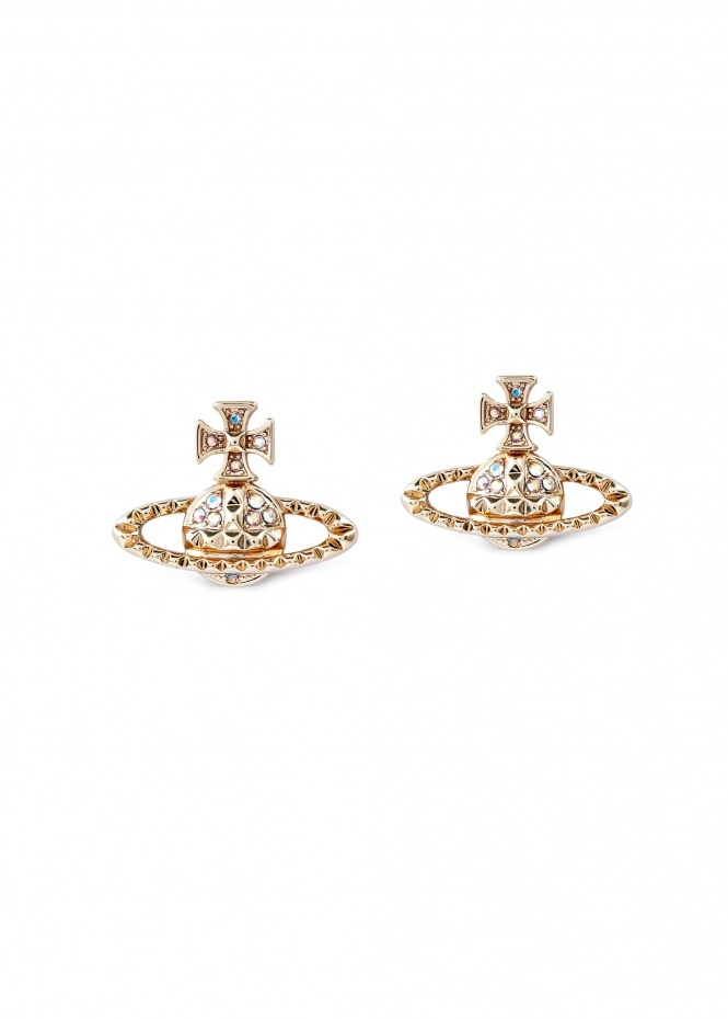 Mayfair Bas Relief Earrings - Gold
