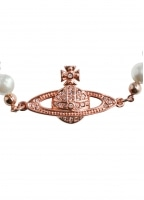 Mini Bas Relief Bracelet - Pink Gold