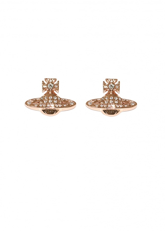 Minnie Bas Relief Earrings - Pink Gold