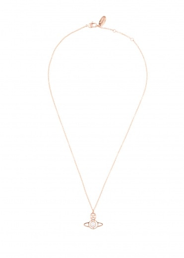 Vivienne Westwood Accessories Nora Pendant - Pink Gold