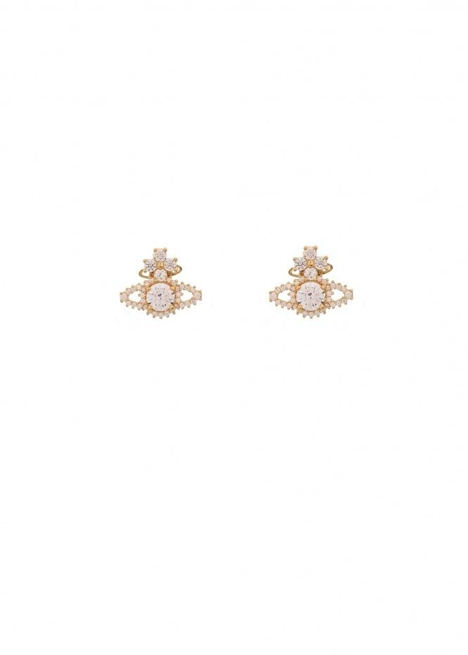 Valentina Orb Earrings - Gold