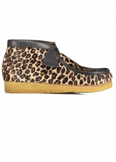 Clarks Originals Wallabee Boot - Leopard Print