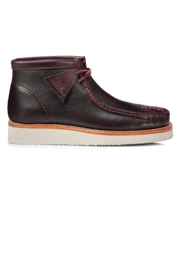 Clarks Originals Wallabee Hike Leather - Bordeaux