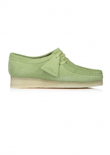 Clarks Originals Wallabee - Sage Suede