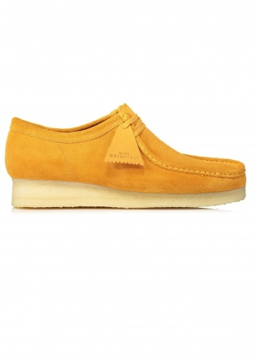 Clarks Originals Wallabee Suede - Turmeric