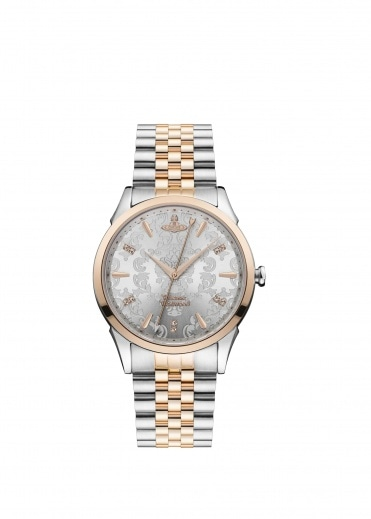 Vivienne Westwood Accessories Wallace Watch - Rose Gold / Silver