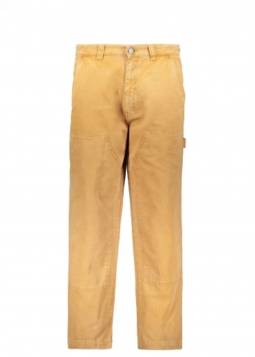 Stussy Washed Work Pant - Gold