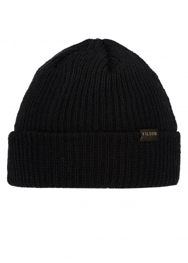 Filson Watch Cap Black One Size