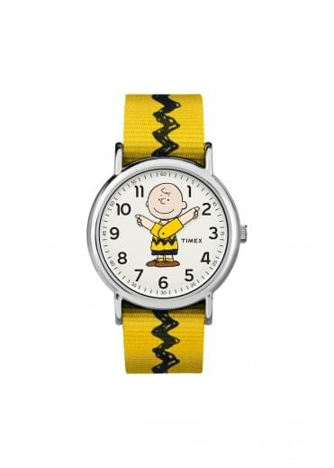 Timex Weekender 38mm Charlie Brown - Yellow