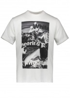 Mountain Collage Tee - White