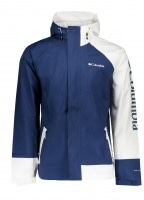 Windfell Park Jacket - Carbon / White