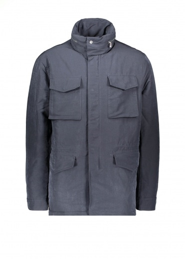 NN07 Winter Field Jacket Navy Blue