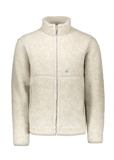 Snow Peak Wool Fleece Jacket - White