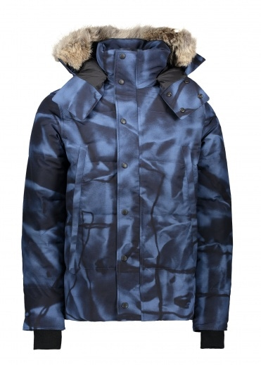 Canada Goose Wyndham Parka - Blue Abstract Camo