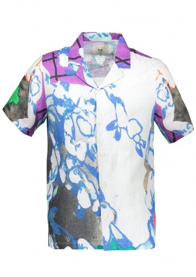 Folk x Alfie Kungu Soft Collar Shirt - Roller Print