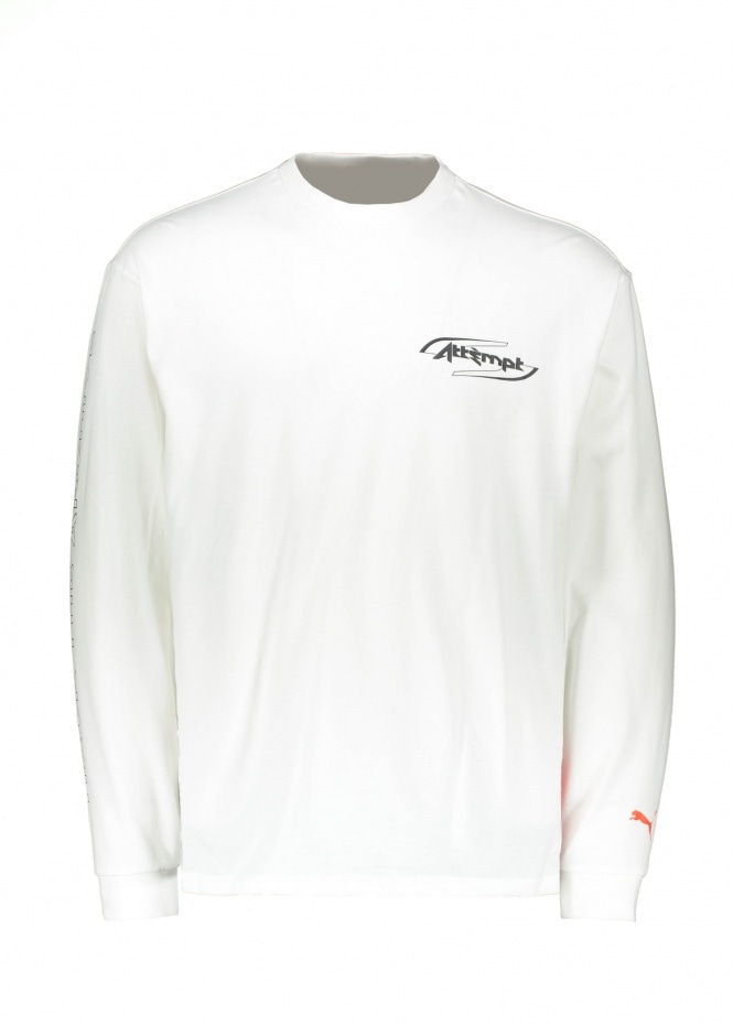 x Attempt LS Tee Puma - White