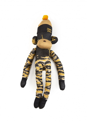 Maharishi x Ayame Sock Monkey - Tigerstripe Camo