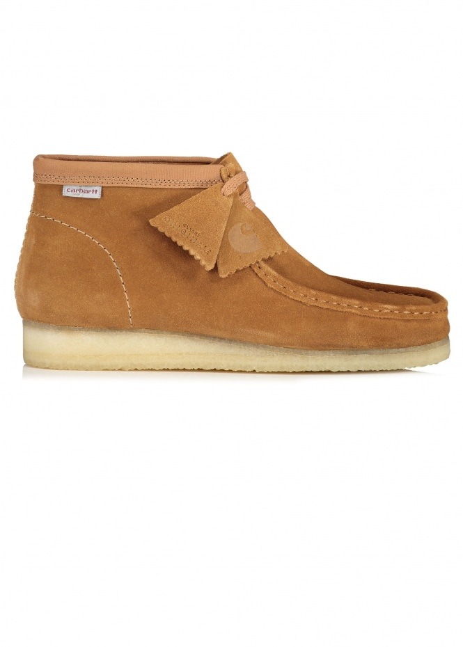 Clarks Originals x Carhartt WIP Wallabee Boot - Brown Combi