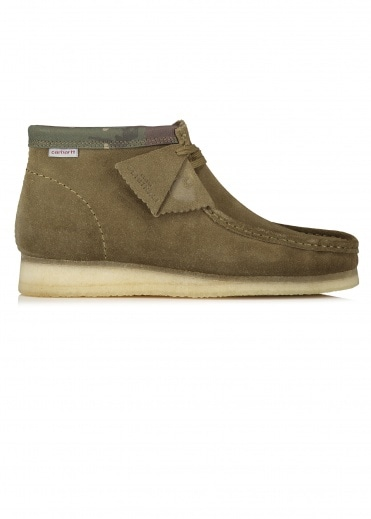 Clarks Originals x Carhartt WIP Wallabee Boot - Olive
