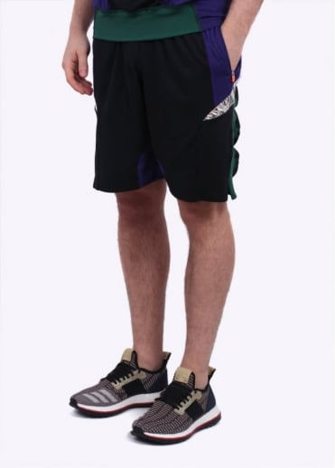 Adidas x Kolor x Kolor Hybrid Shorts - Purple / Black