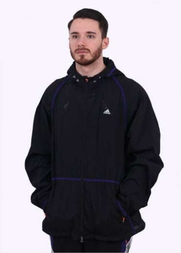 adidas x Kolor x Kolor WVN JKT - Black / Purple