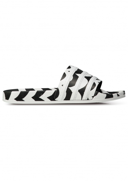 adidas x Marimekko Adilette Slides - Black / White