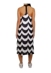 adidas Originals Apparel x Marimekko Midi Tank Dress - Black / White