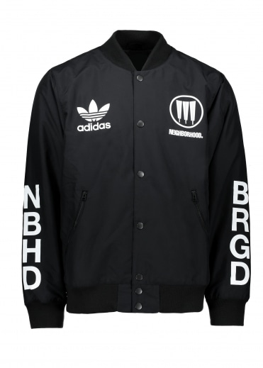 Adidas Originals Apparel x Neighborhood Stadium Jacket NBHD - Black