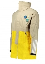 Adidas Originals Apparel x Pharrell Hu 3L Jacket - Hemp
