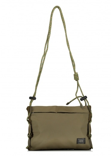 White Mountaineering  x Porter Musette Bag - Khaki