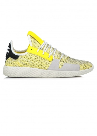Adidas Originals Footwear x PW Afro Tennis Hu V2 - Grey / Yellow